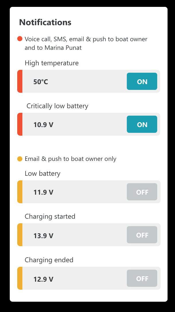 smart battery settings