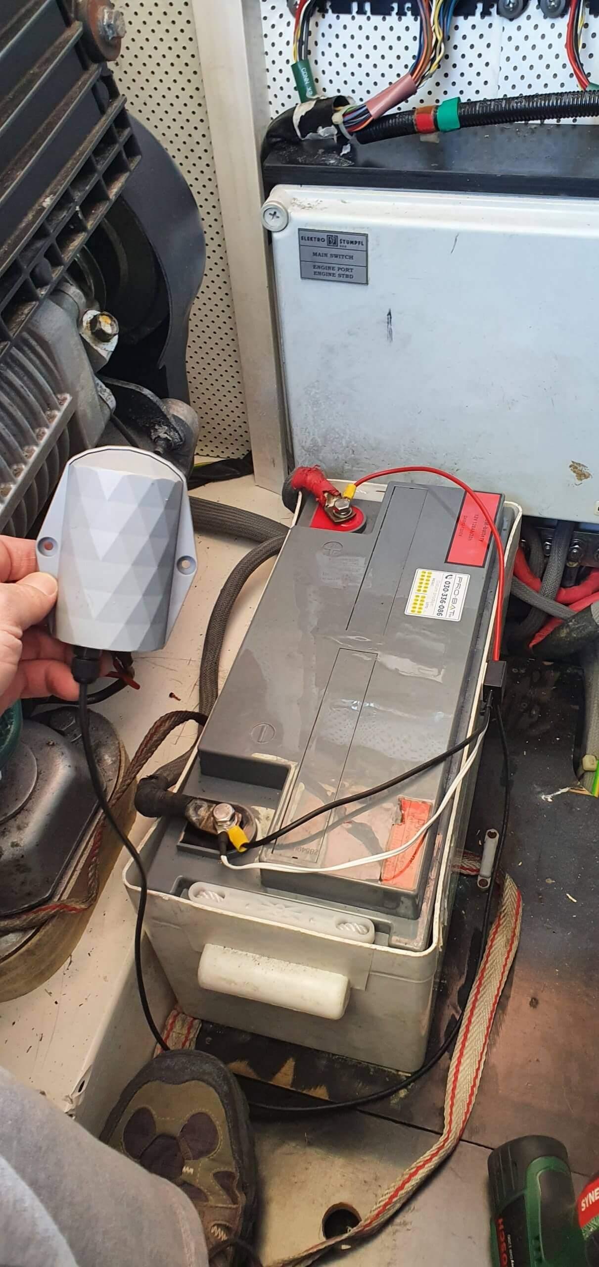 smart battery sensor